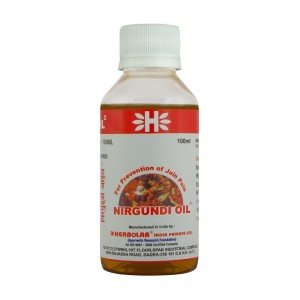 Buy Dr. Vaidya's Nirgundi Oil For Join Pain - Nykaa
