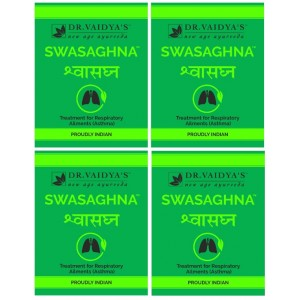 Buy Dr. Vaidya's Swasaghna Pills For Asthma (Pack Of 4) - Nykaa