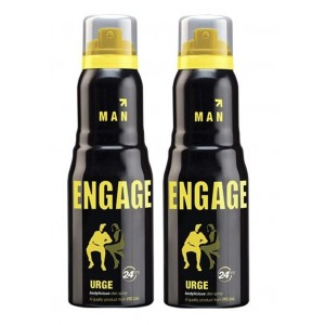 Buy Herbal Engage Men Deodorant - Urge - Pack Of 2 - Nykaa