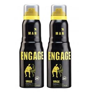 Buy Engage Men Deodorant - Urge - Pack Of 2 - Nykaa