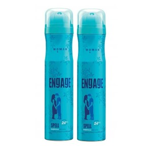 Buy Engage Woman Deodorant - Spell - Pack Of 2 - Nykaa