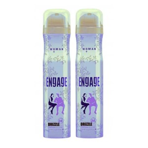 Buy Engage Woman Deodorant - Drizzle - Pack Of 2 - Nykaa