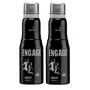 Buy Herbal Engage Men Deodorant - Frost - Pack Of 2 - Nykaa