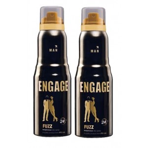 Buy Engage Men Deodorant - Fuzz - Pack Of 2 - Nykaa