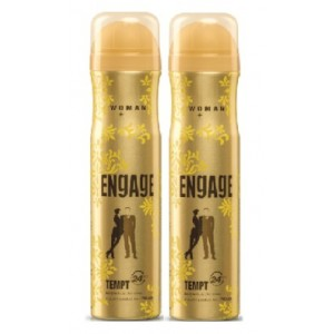 Buy Engage Woman Deodorant - Tempt - Pack Of 2 - Nykaa