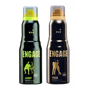 Buy Engage Men Deodorants Pack of 2 - Jump & Fuzz - Nykaa