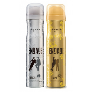 Buy Engage Woman Deodorants Pack of 2 - Drizzle & Tempt - Nykaa