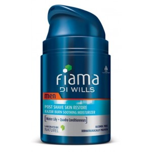 Buy Herbal Fiama Di Wills Men Post Shave Skin Restore Razor Burn Soothing Moisturizer - Nykaa