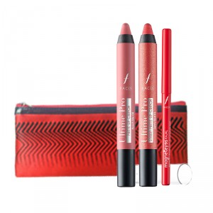 Buy Faces Ladies Night Matte Crayon + Free Magneteyes Kajal Combo - Nykaa