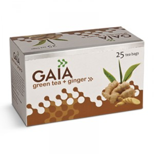 Buy Gaia Green Tea Ginger (Buy 2 Get 1 Free) - Nykaa