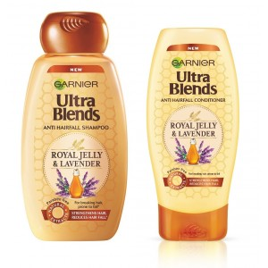Buy Garnier Ultra Blends Royal Jelly & Lavender Shampoo + Conditioner (175ml) - Nykaa