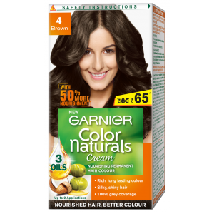 Buy Garnier Color Naturals - 4 Brown (Rs. 15 Off) - Nykaa