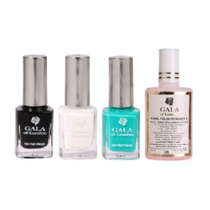 Buy Gala of London Black White Blue Combo - Nykaa