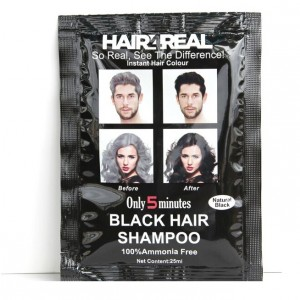 Buy Herbal Hair4Real Natural Black Hair Shampoo(Pack of 3 Sachet) - Nykaa