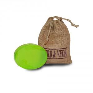Buy Herb & Veda Lemon Grass Soap - Nykaa