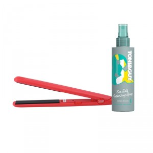 Buy Toni&Guy Limited Edition Casual Sea Salt Texturising Spray + Roots Professional HSLM Hair Straightener - Nykaa