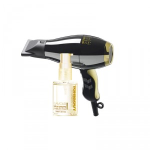 Buy Toni&Guy Glamour: Serum Drops + Elchim 3900 Healthy Ionic Hair Dryer - Black & Gold - Nykaa