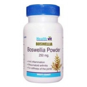 Buy HealthVit Boswellia Powder 250 mg 60 Capsules For Healthy Joints - Nykaa