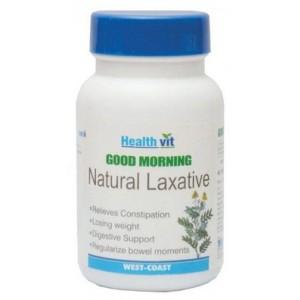 Buy HealthVit Good Morning Natural Laxative (60 Tablets) - Nykaa