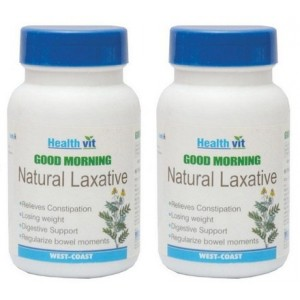 Buy HealthVit Good Morning Natural Laxative (Pack of 2) - Nykaa