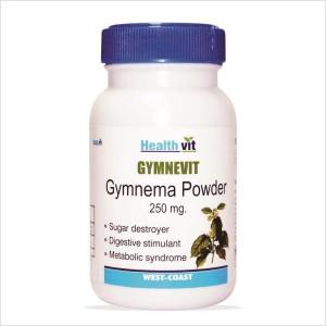 Buy HealthVit Gymnevit Gymnema Powder 250 mg (60 Caps) - Nykaa