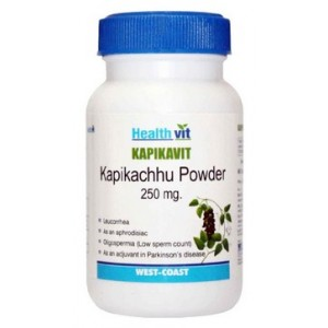 Buy HealthVit Kapikavit Kapikachu Powder 250mg (60 Caps) - Nykaa