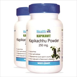 Buy HealthVit Kapikavit Kapikachu Powder 250mg (Pack of 2) - Nykaa