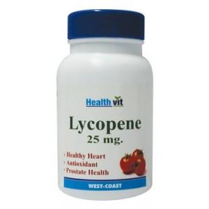 Buy HealthVit Lycopene 25mg (60 Tablet) - Nykaa