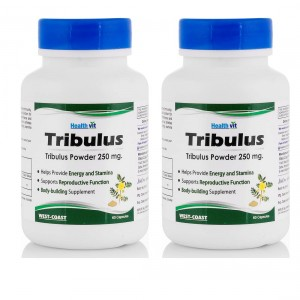 Buy Healthvit Tribulus Powder 250mg (Pack of 2) - Nykaa