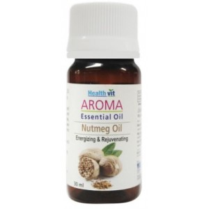 Buy HealthVit Aroma Nutmeg Essential Oil - Nykaa