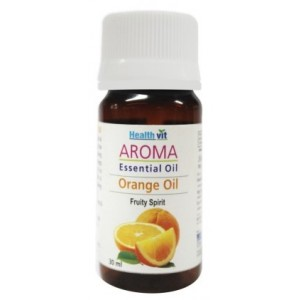 Buy HealthVit Aroma Orange Essential Oil - Nykaa