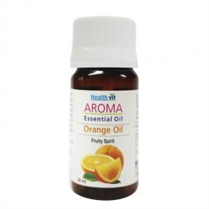 Buy Herbal HealthVit Aroma Orange Essential Oil - Nykaa