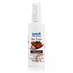 Buy HealthVit Bath & Body Moisturizer Almond Skin Toner - Nykaa