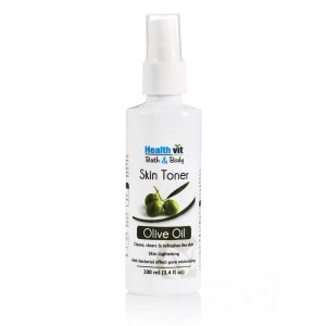 Buy HealthVit Bath & Body Natural Olive Skin Toner - Nykaa