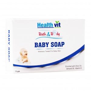 Buy HealthVit Bath & Body Baby Soap - Nykaa