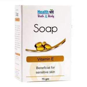 Buy HealthVit Bath & Body Vitamin E Soap - Nykaa