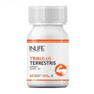 Buy INLIFE Tribulus Terrestris Gokshura 60 Vegetarian Capsule For Strength & Stamina - Nykaa