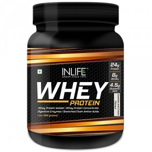 Buy INLIFE Whey Protein Powder 1 lbs(Cookie and Cream Flavour) Body Building Supplement - Nykaa