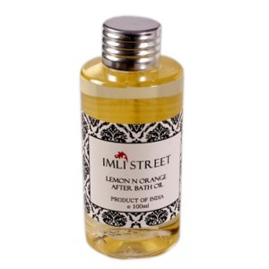 Buy Imli Street Lemon Orange After Bath Oil - Nykaa