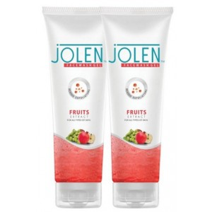 Buy Jolen Fruit Face Wash Twin Pack - Nykaa