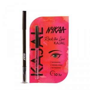 Buy Nykaa Brow Chika WOW Eyebrow Pencil Coven Cocoa 01 + Rock The Line Kajal - Nykaa