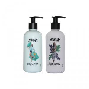 Buy Nykaa Fresh Aqua + French Lavender Body Lotion Combo - Nykaa