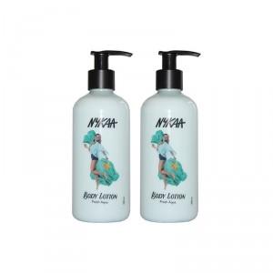 Buy Nykaa Fresh Aqua Body Lotion Pack of 2 - Nykaa