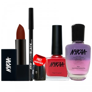 Buy Nykaa Girl's Bestfriends Eyes Lips and Nails Combo - Nykaa