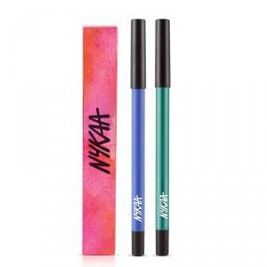 Buy Nykaa GLAMOReyes Eyeliner Pencil - Teal Spell 02 + GLAMOReyes Eye Pencil - Blue Hex 01 - Nykaa