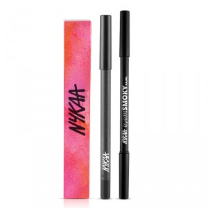 Buy Nykaa GLAMOReyes Eye Pencil - Voodoo Grey 04 + EyemSMOKY Kajal - Nykaa