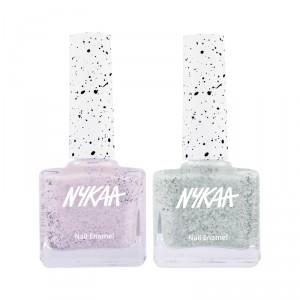 Buy Nykaa Mint Crushin' Nail Lacquer Combo - Nykaa