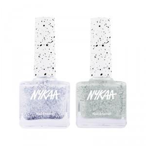 Buy Nykaa Mint To Be Nail Lacquer Combo - Nykaa