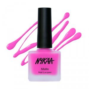 Buy Herbal Nykaa Neon Matte Nail Enamel - Pink Lemonade - Nykaa