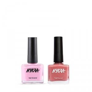 Buy Nykaa Pink Galore Nail Enamel Combo - Nykaa